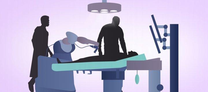Voorste kruisband operatie video